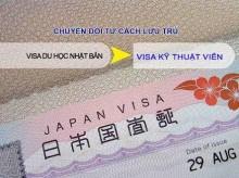 DHS chuyển sang VISA KỸ SƯ-ĐẦU TƯ